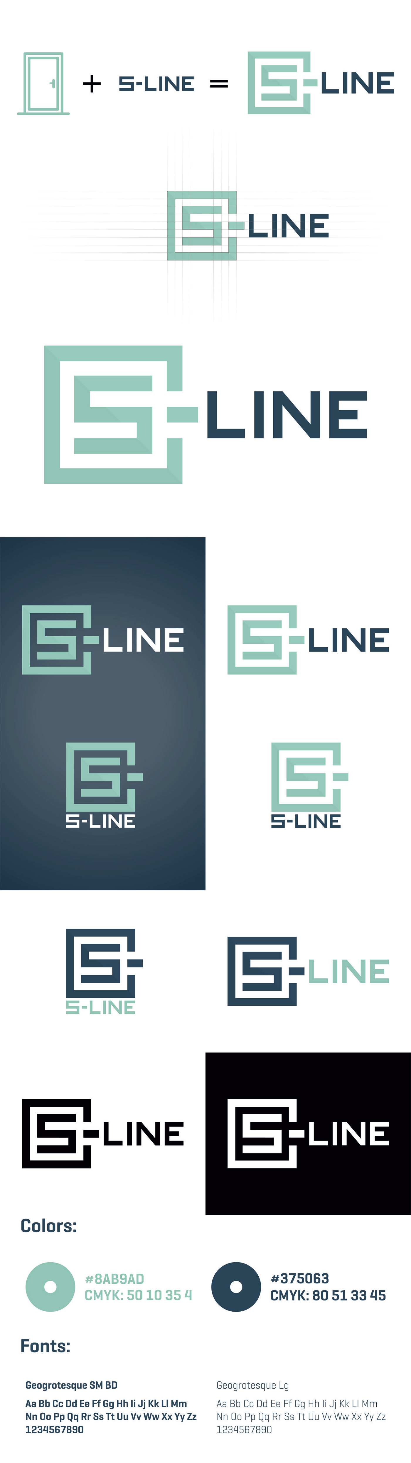 branding  identity logo vector corporate branding graphic design  Doors