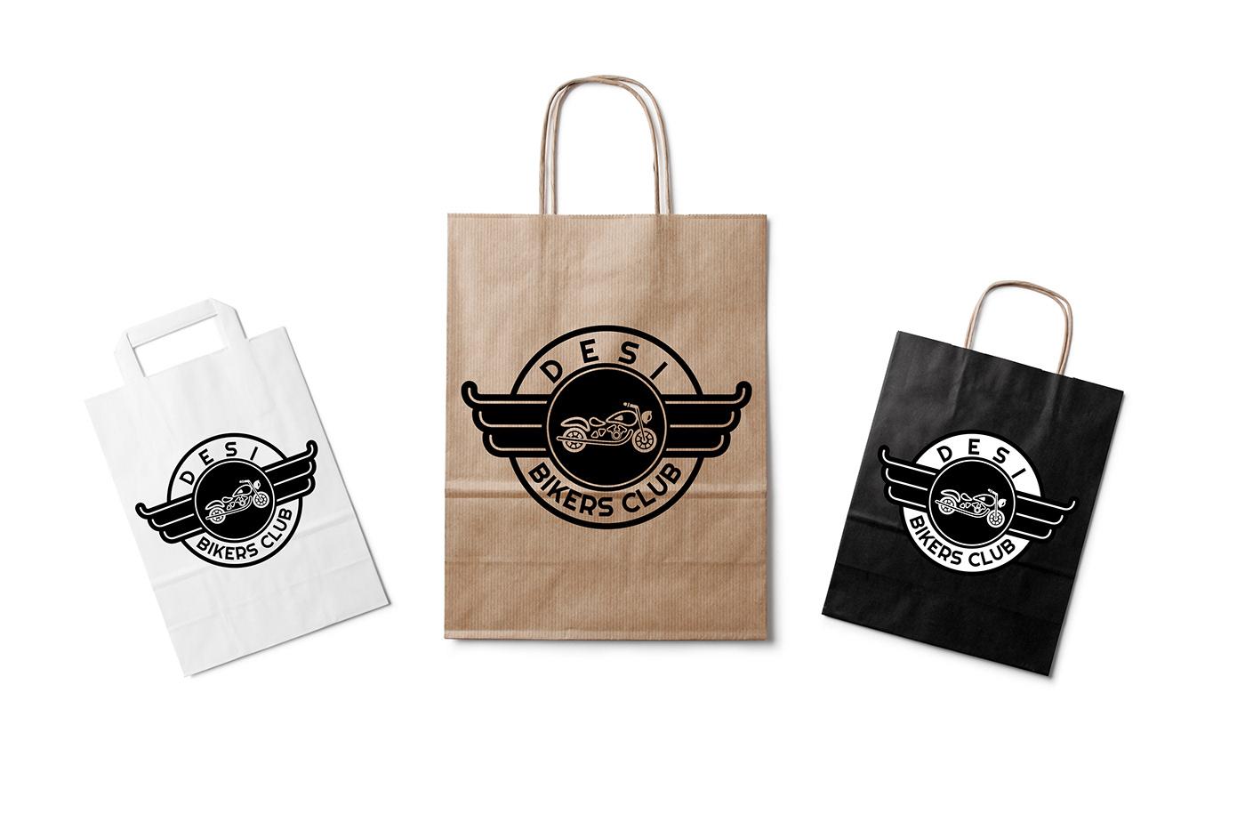 adobe photoshop Illustrator logo branding  print tshirt business card biking motorcycle