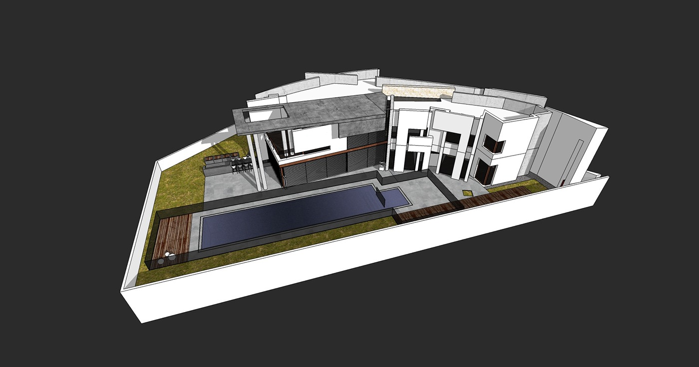 Wonderful When The Design Was Advanced Enough, I Started Exploring The House With  Renderings. I Did These Back In 2009 2010 Using V Ray.