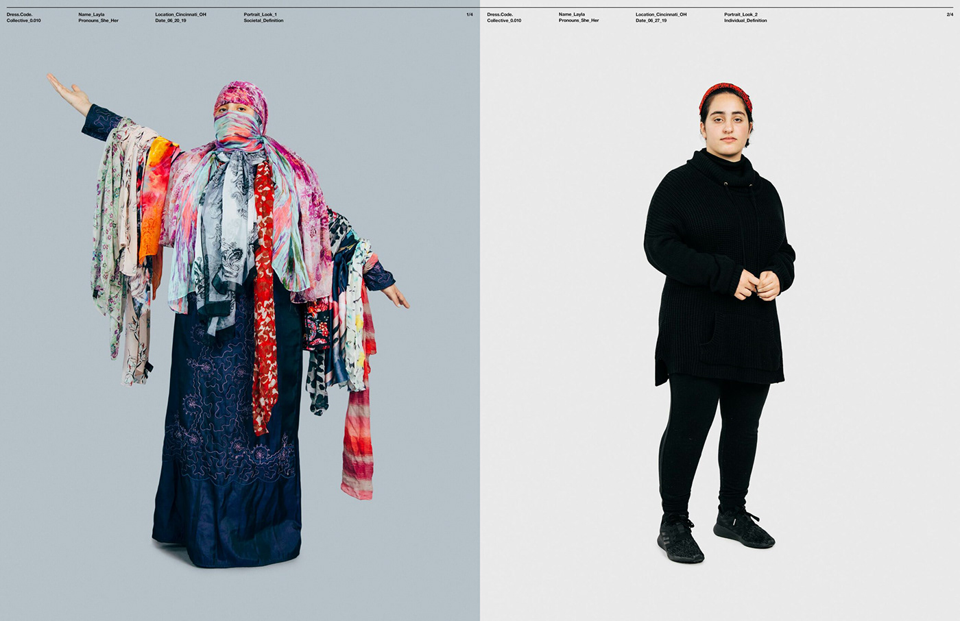 Fashion  feminism Gender helvetica online gallery photography series portraits social art Studio Photography Website