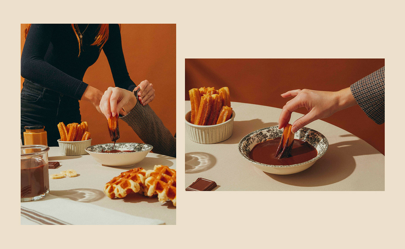 Absurd art direction  chocolate Conceptual Food Food  food set milkyway set design  still life surreal