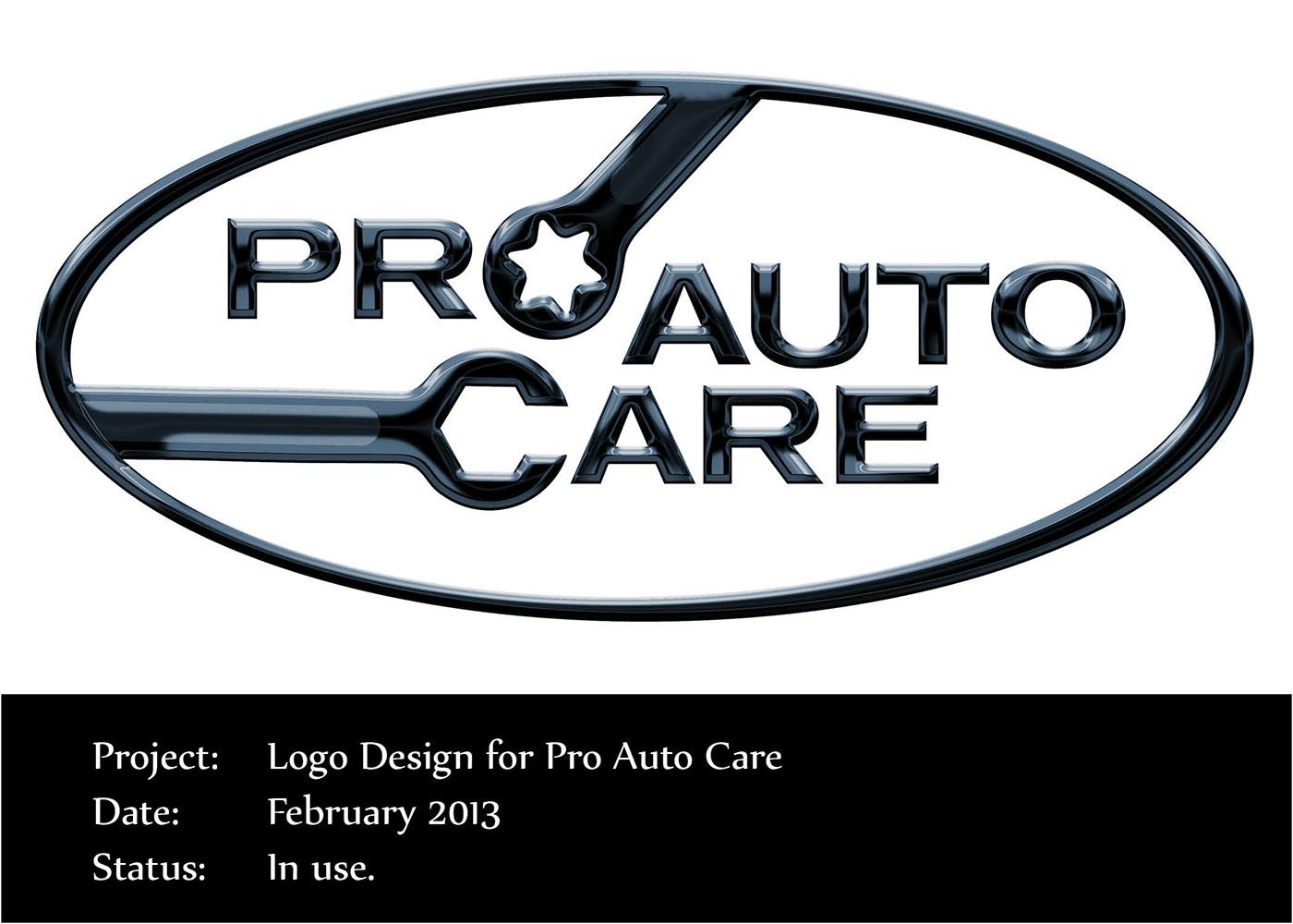 Pro Auto Care Logo Design on Behance