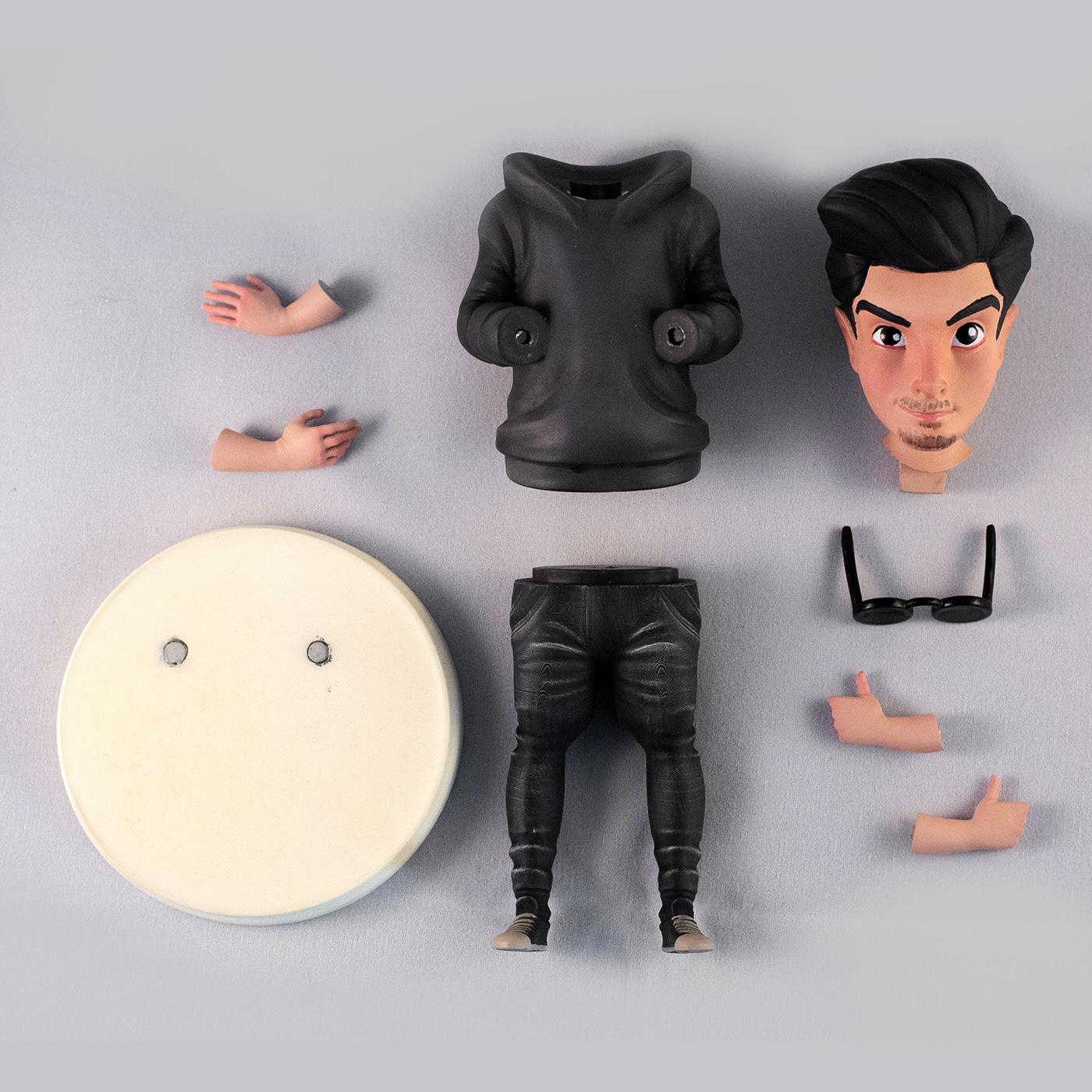 3d print custom made custom toy figurine resin toy