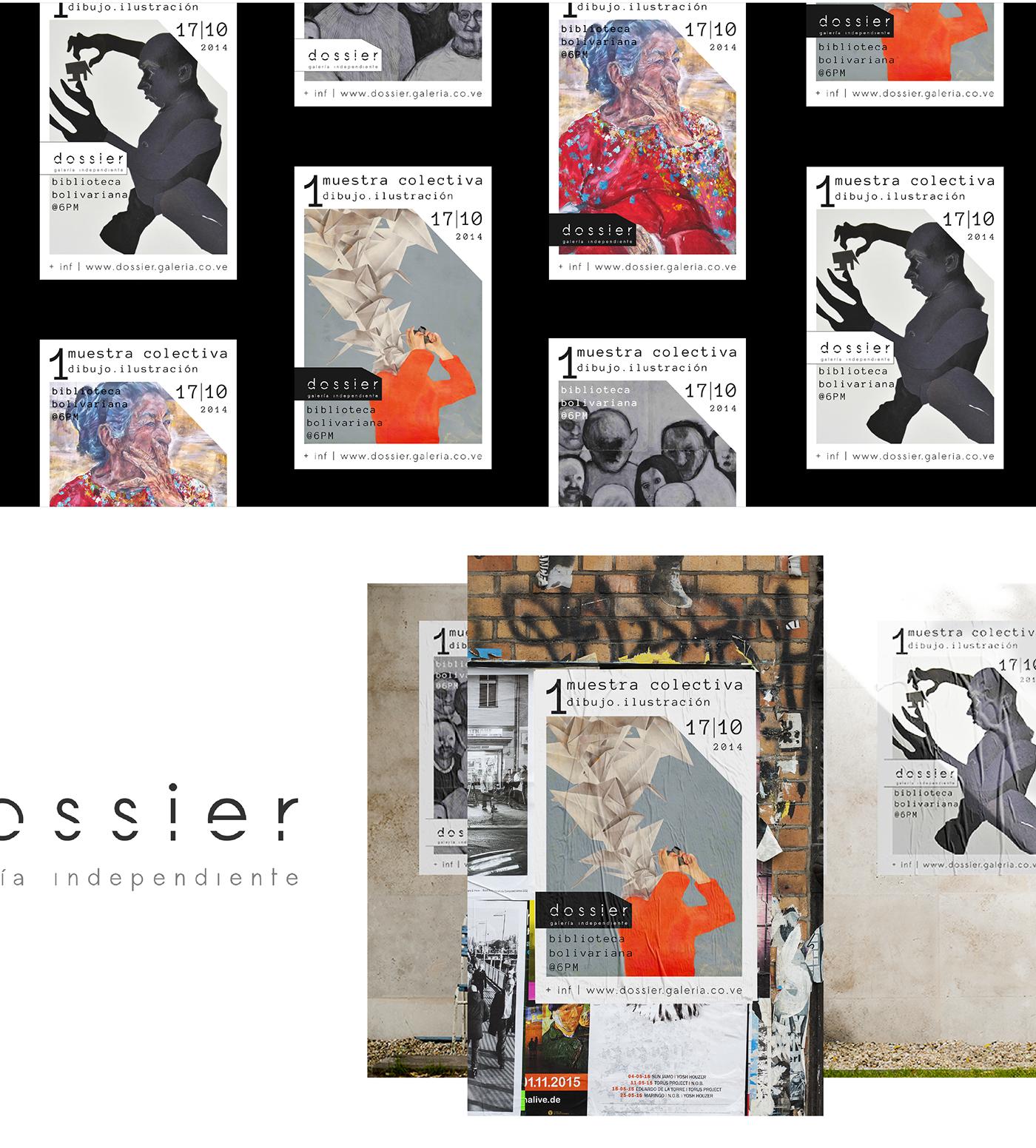 museum gallery artist Exhibition  ILLUSTRATION  design
