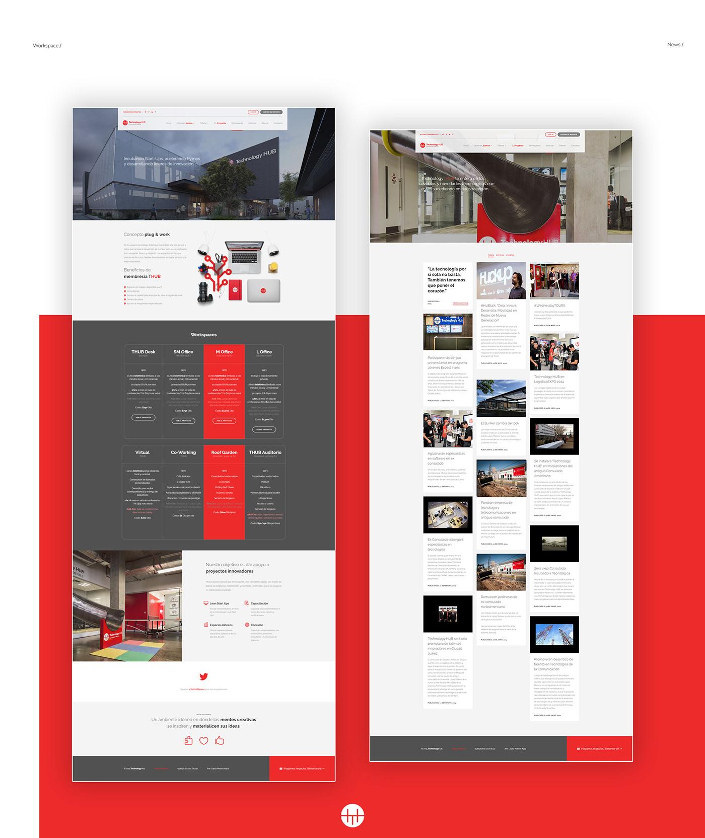 Ciudad Juarez Hub Responsive t-hub Technology Hub Website