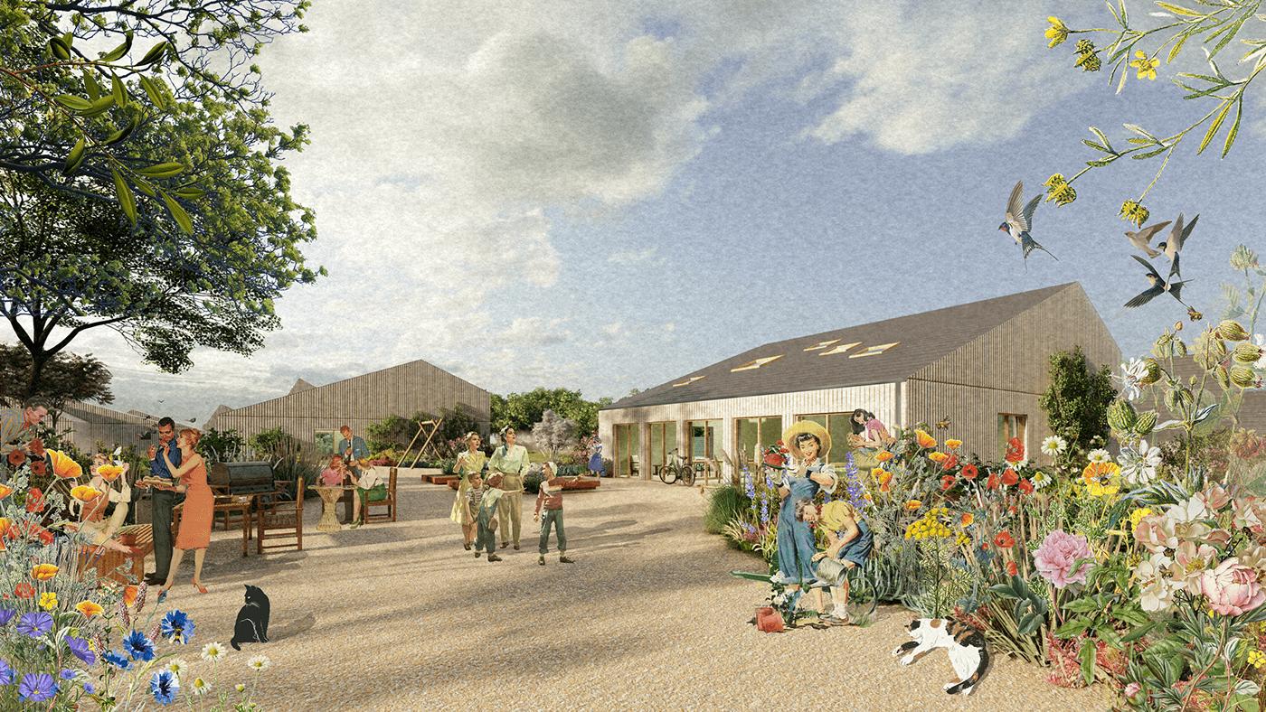 Adaptive Housing,architecture,Biophilic Design,community,living community,Nature,permaculture,Sustainability