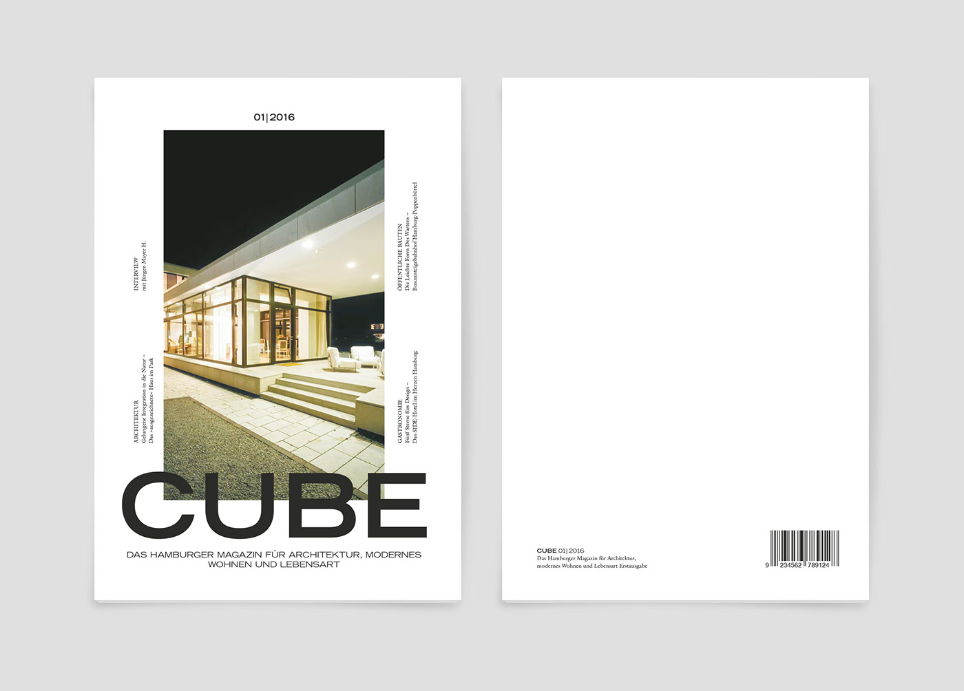CUBE Magazine Redesign on Behance