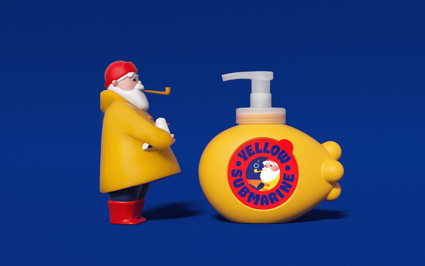 children kids Packaging Periscope Sailor shampoo soap toydesign MAKSIMARBUZOV MARIAFEDOSEEVA