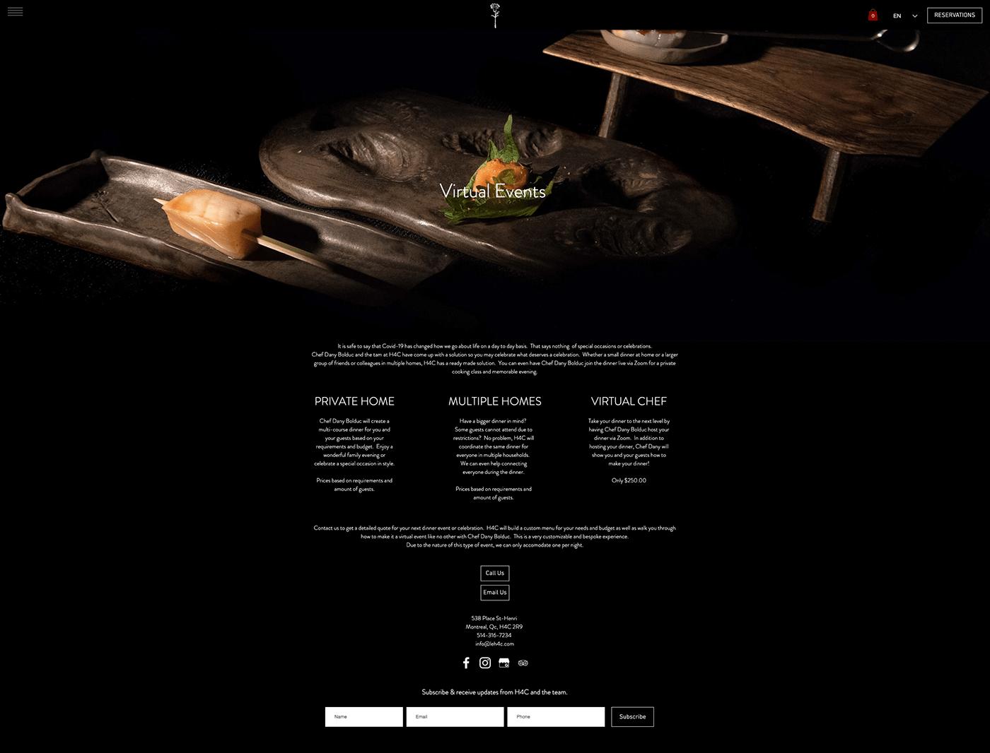 chef cooking Cours de cuisine cuisine du terroir Événement virtuel online event
