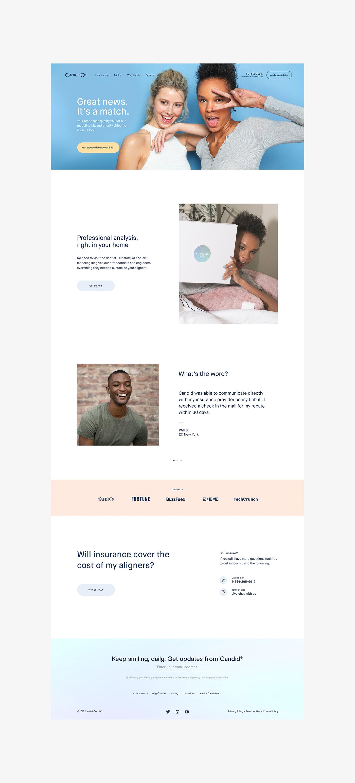 design UI ux motion candidco Website animation  Web Design  mobile concept