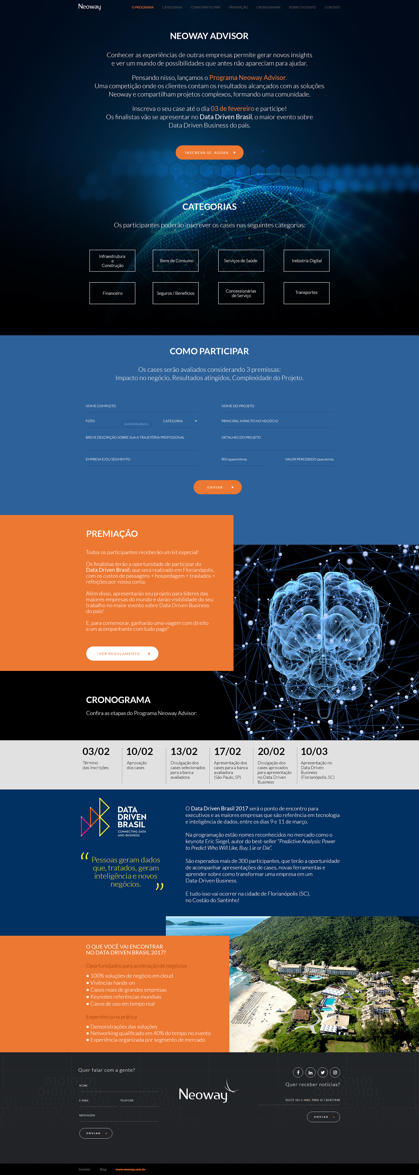 landing page,Webdesign