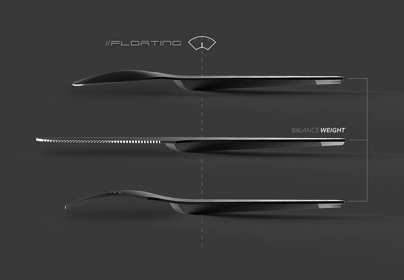 cutlery flatware product design  industrial design  packaging design rendering 3d design cmf Rhinoceros keyshot