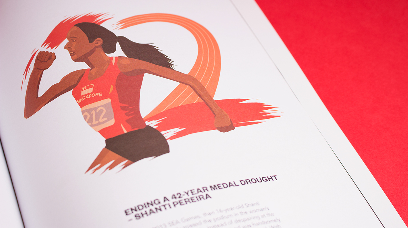 Shanti Pereira national Sprinter running sprint 42 Years singapore SG50 Medal editorial article sports Spot