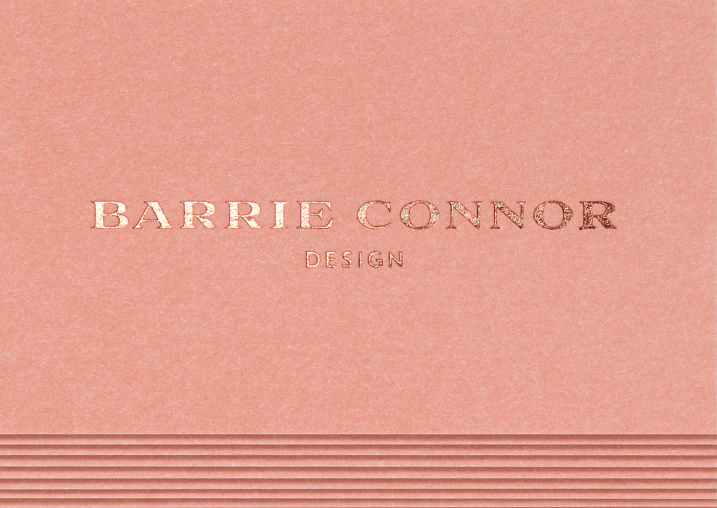Barrie Connor Design Business Cards on Behance