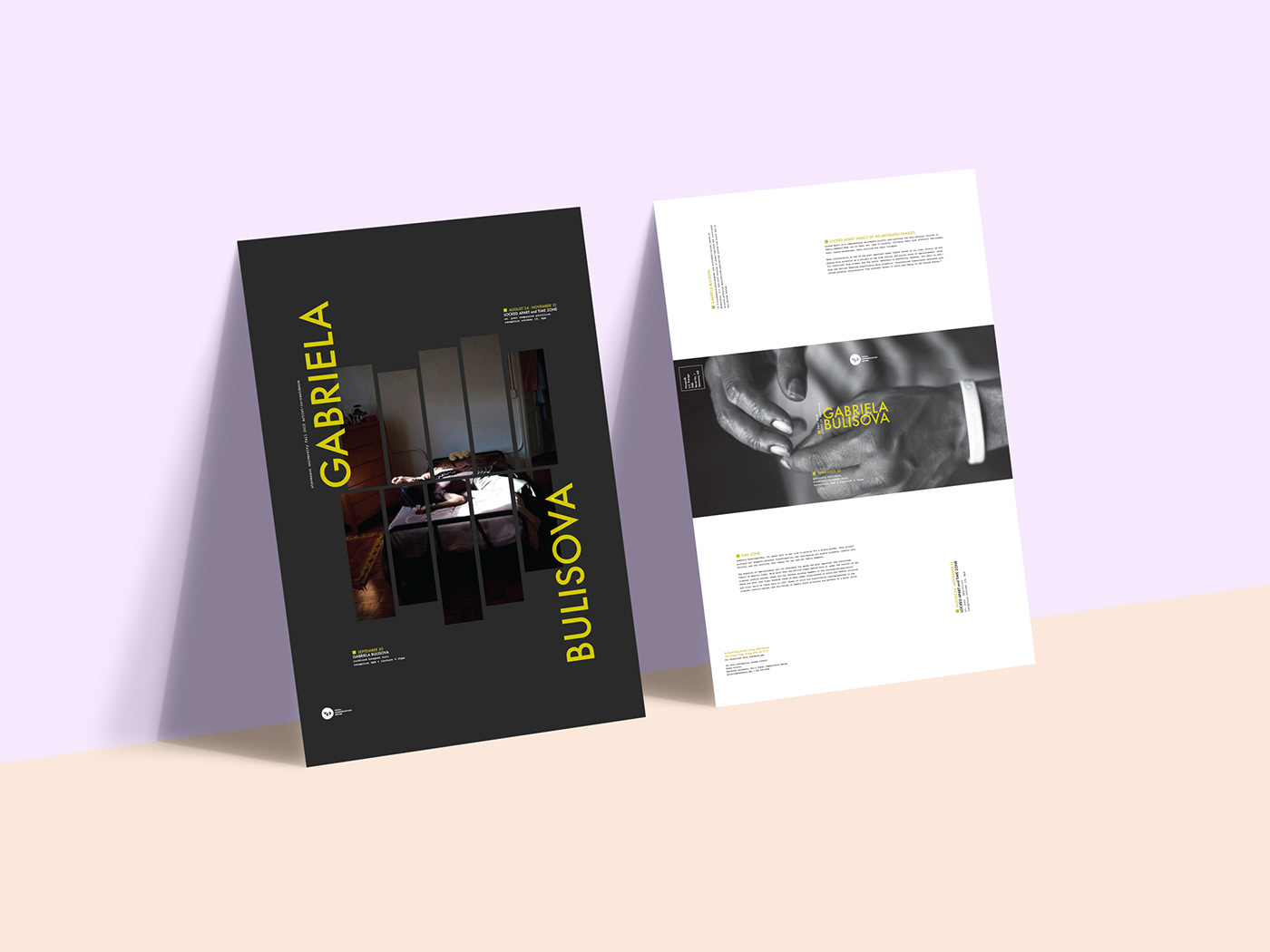 poster design print graphic photographer artist IN Residence Mockup Photography