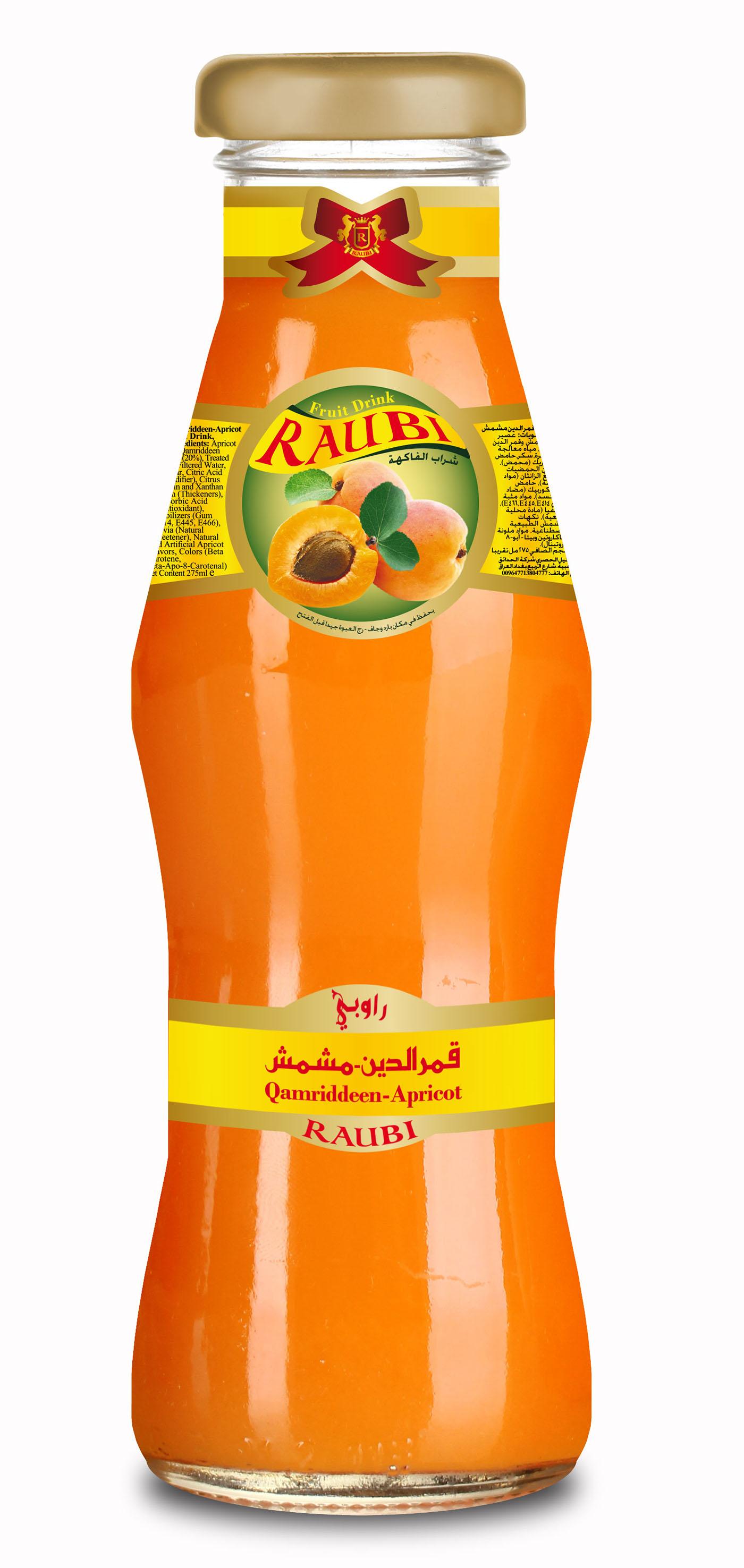 Raubi Fruit Drink - 275ml on Behance