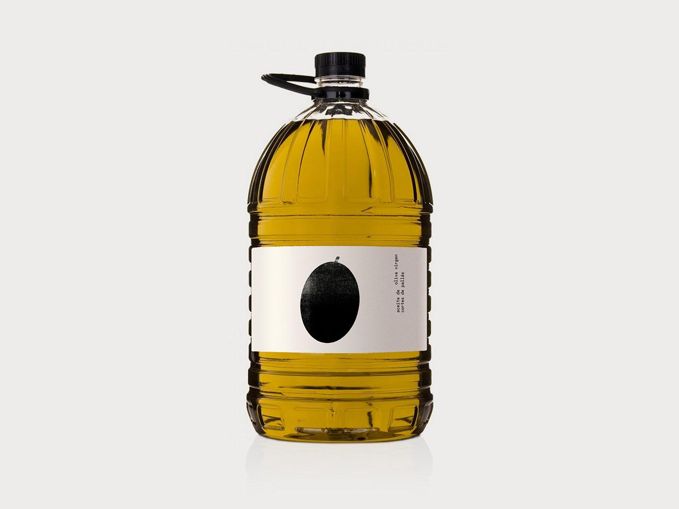 aceite virgen embalaje etiqueta graphic