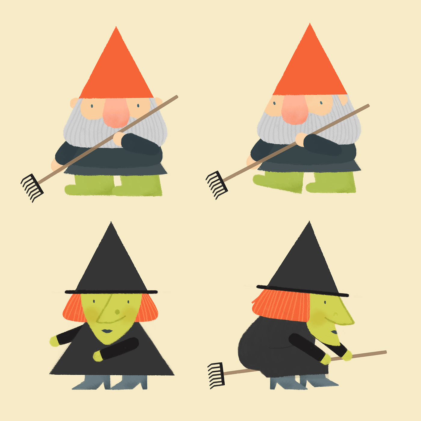 Character Design Jobs New York : Fall o ween on behance