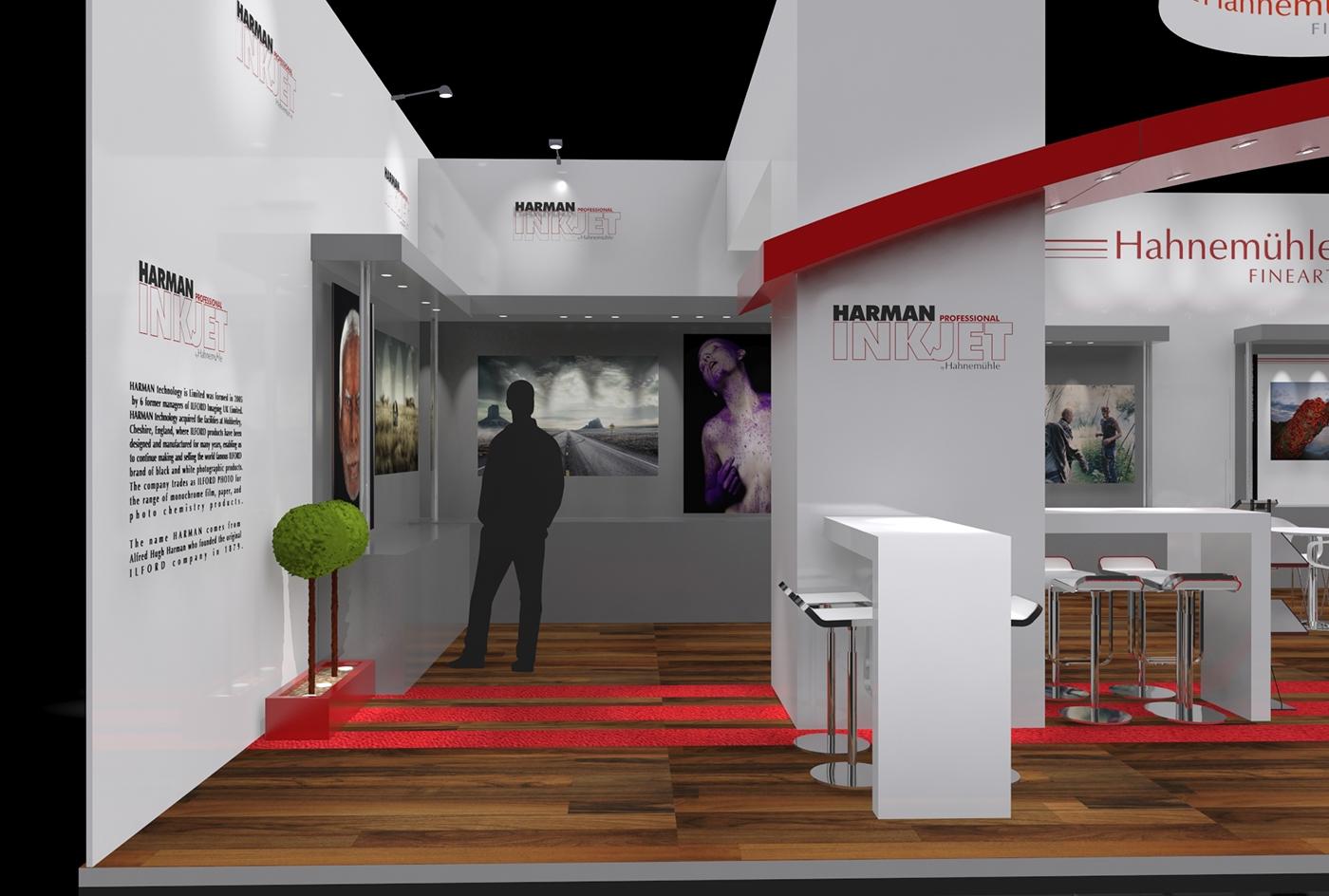 Hahnemühle Photokina booth design DaseinDesign