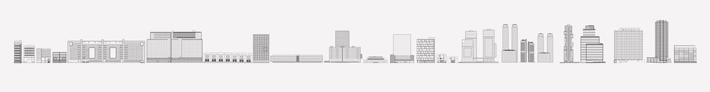 Desarrolladora animation  building vectors Illustrator Artline TrimPath construction city timeline