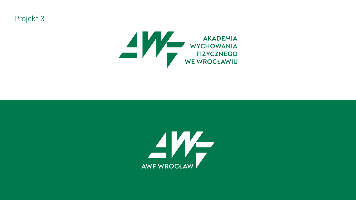75th Anniversary academy akademia anniversary AWF logo Logo Design sport University wrocław
