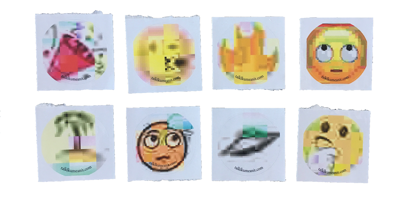 book Internet webspeak Meme Website installation thesis print design  Emojis linguistics