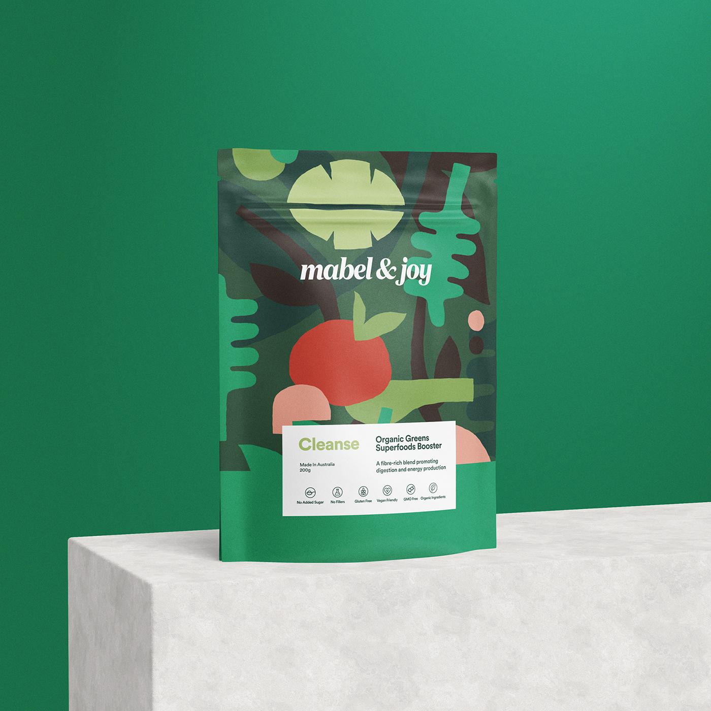 Jo Cutri Studio. Branding. Packaging Design. Graphic Design. Organic Superfoods. Food Packaging