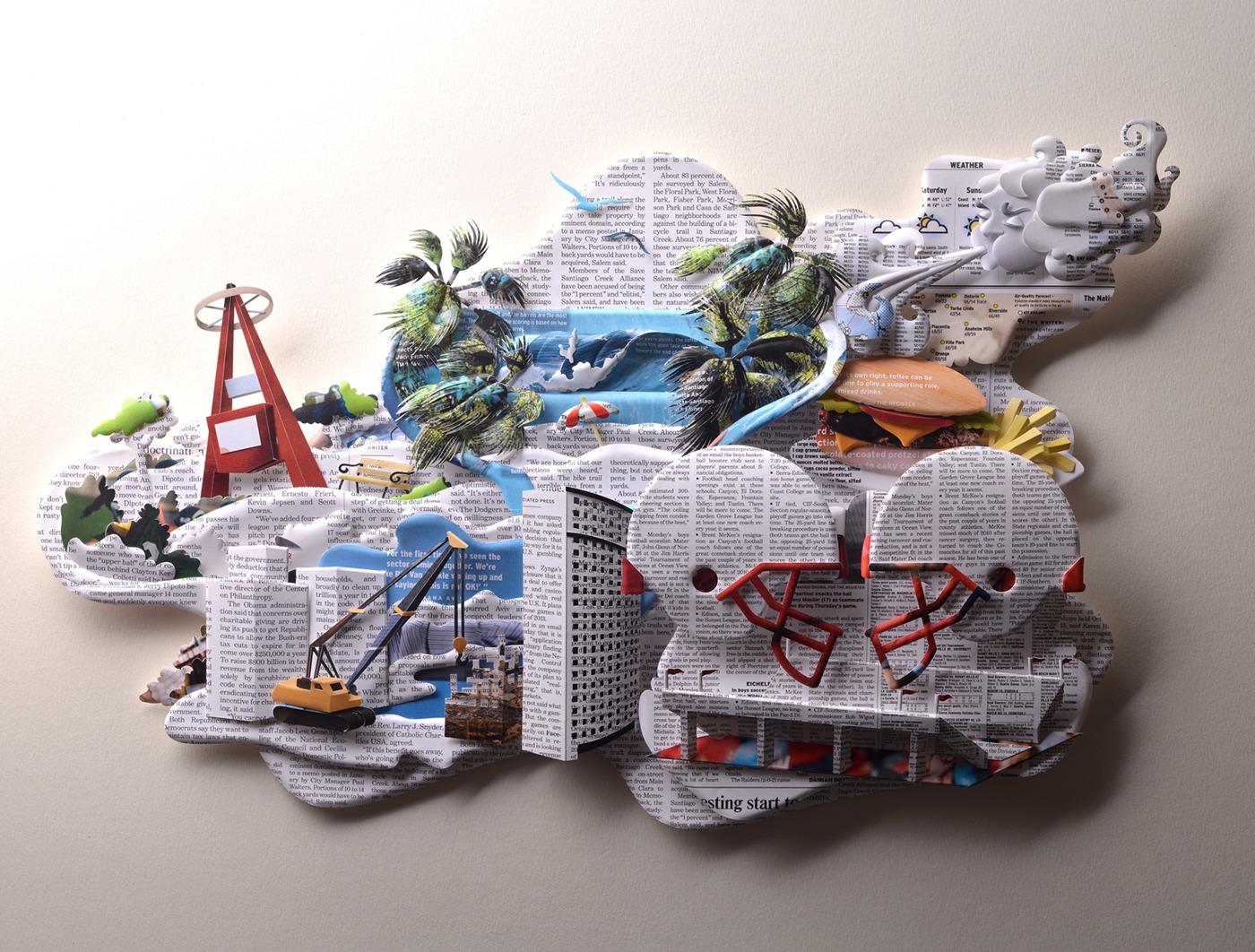 優質的27套立體紙雕作品欣賞