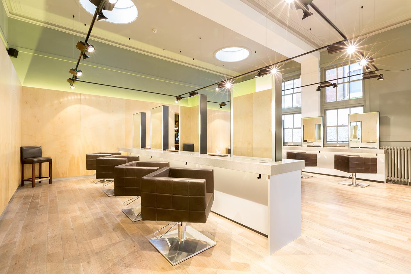 Aveda lifestyle salon amanda marsden exeter uk on behance for Salon architecture