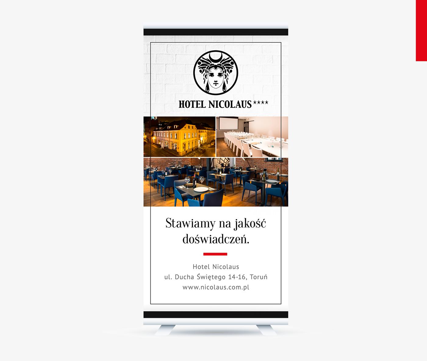 menu poster leaflet hotel restaurant