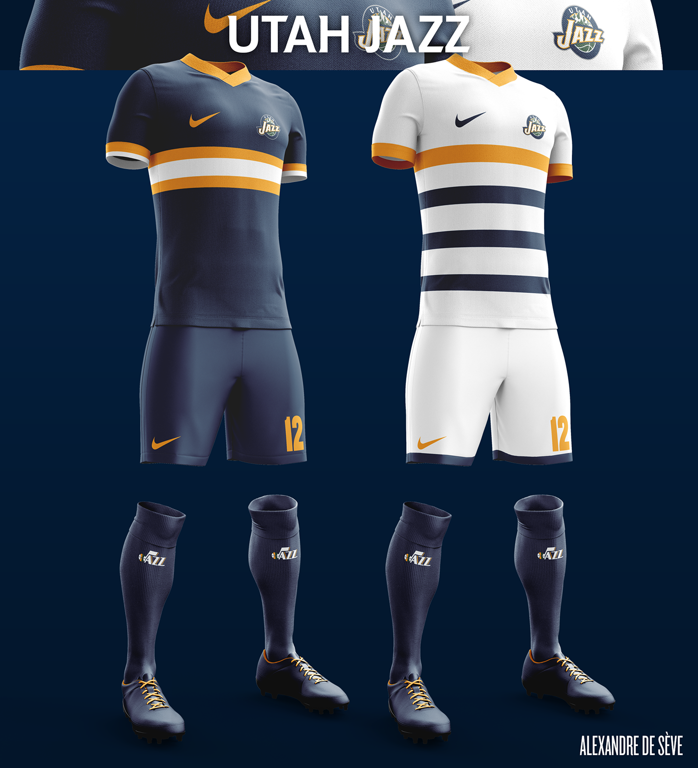 Talisman & Co. | Utah Jazz Soccer Concept Kit