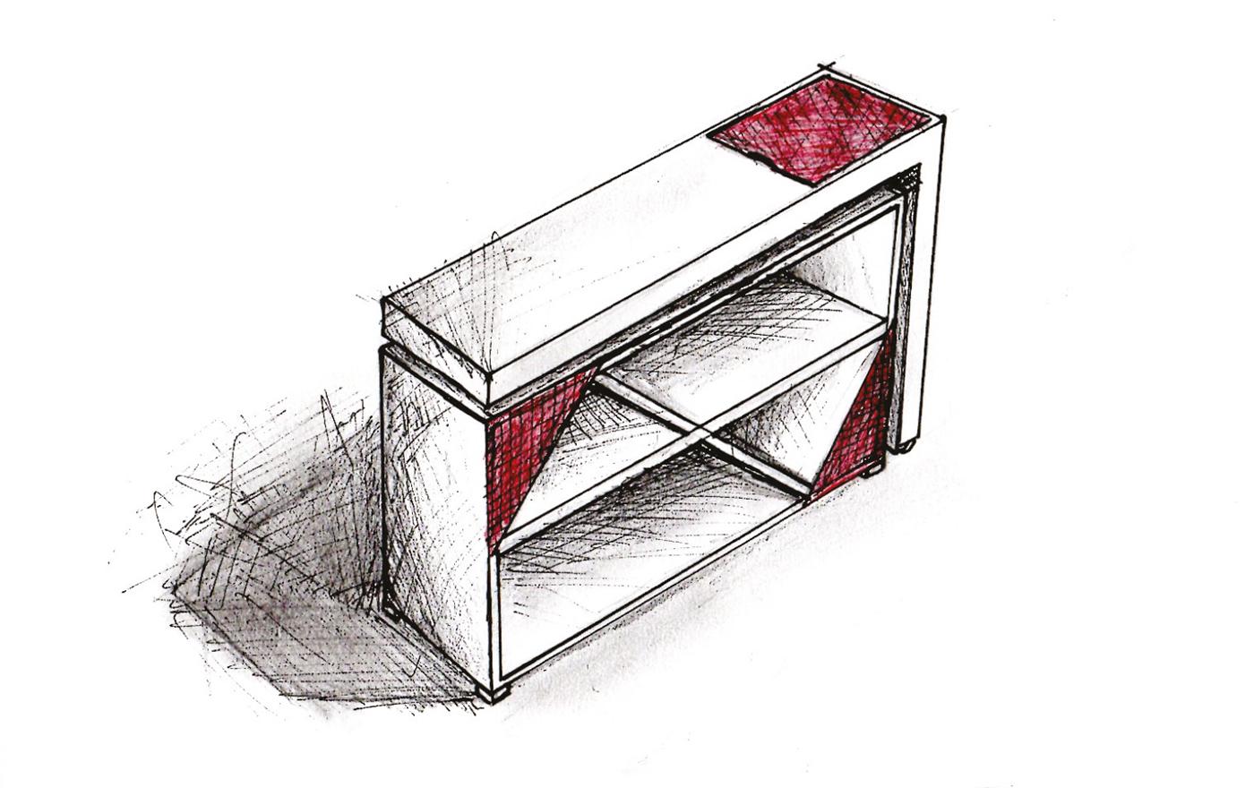 home office mesa desk Minimalista Minimalism