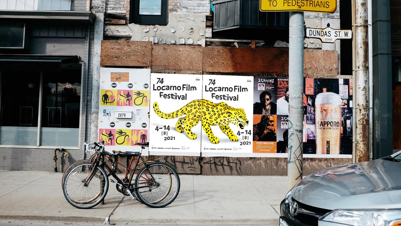 Cinema,Francesco Mazzenga,graphic design ,Locarno Film Festival,poster,Proposal