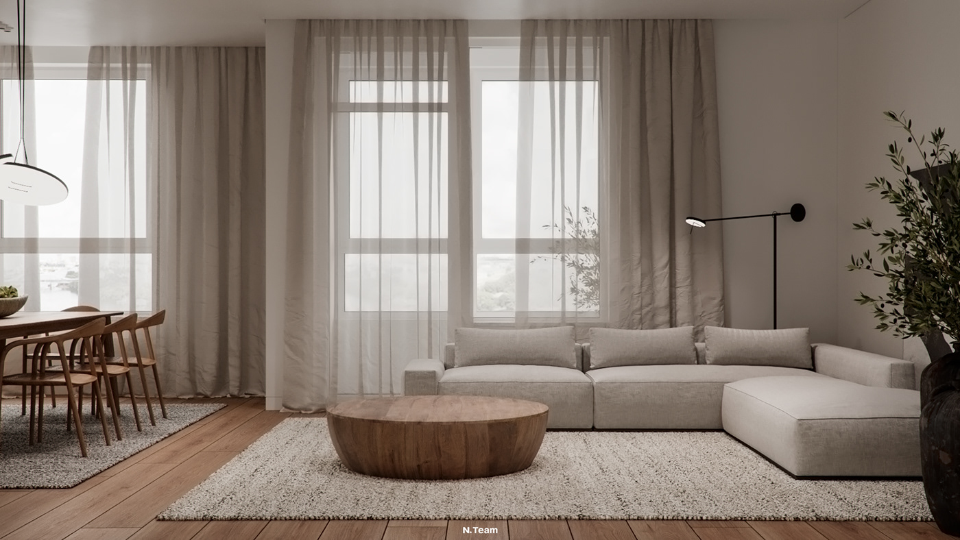 apartment architecture Citypark design Interior kidsroom Moscow natural NTeam Tint