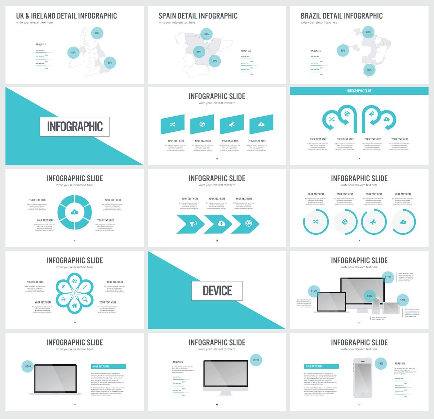 free keynote pixxel presentation template on behance