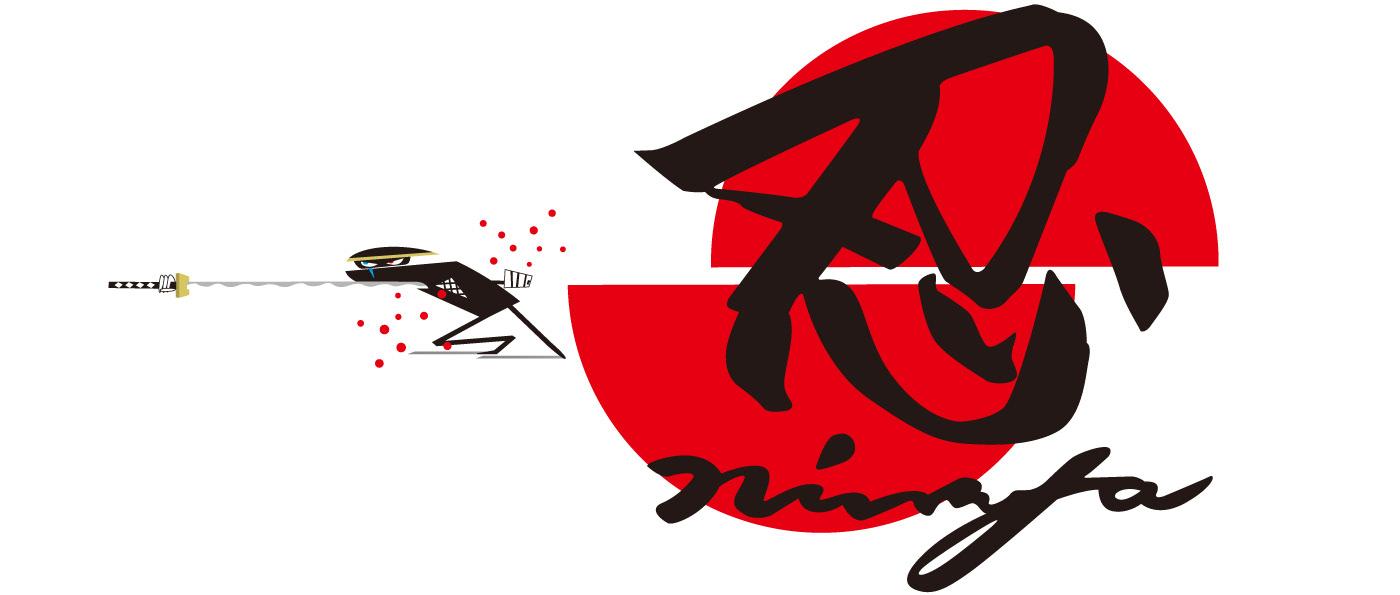 ninja shinobi samurai japan Character gif gifanimation ILLUSTRATION  animal battle