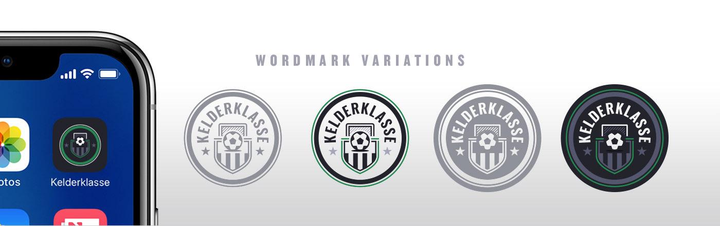 app UI ux branding  football soccer interaction gif material design