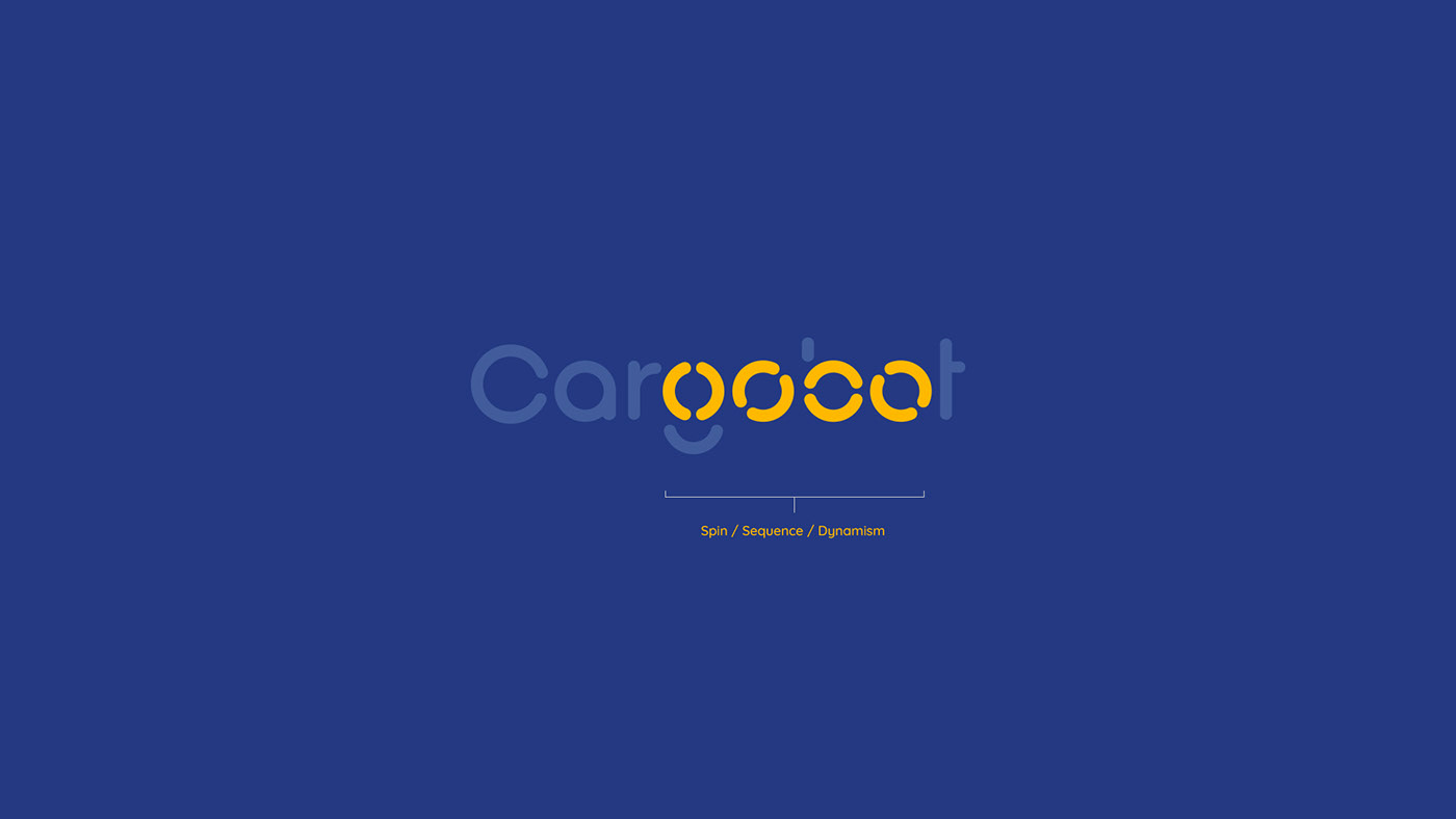 Startup Technology branding  Innovative Smart friendly yellow blue conceptual movement
