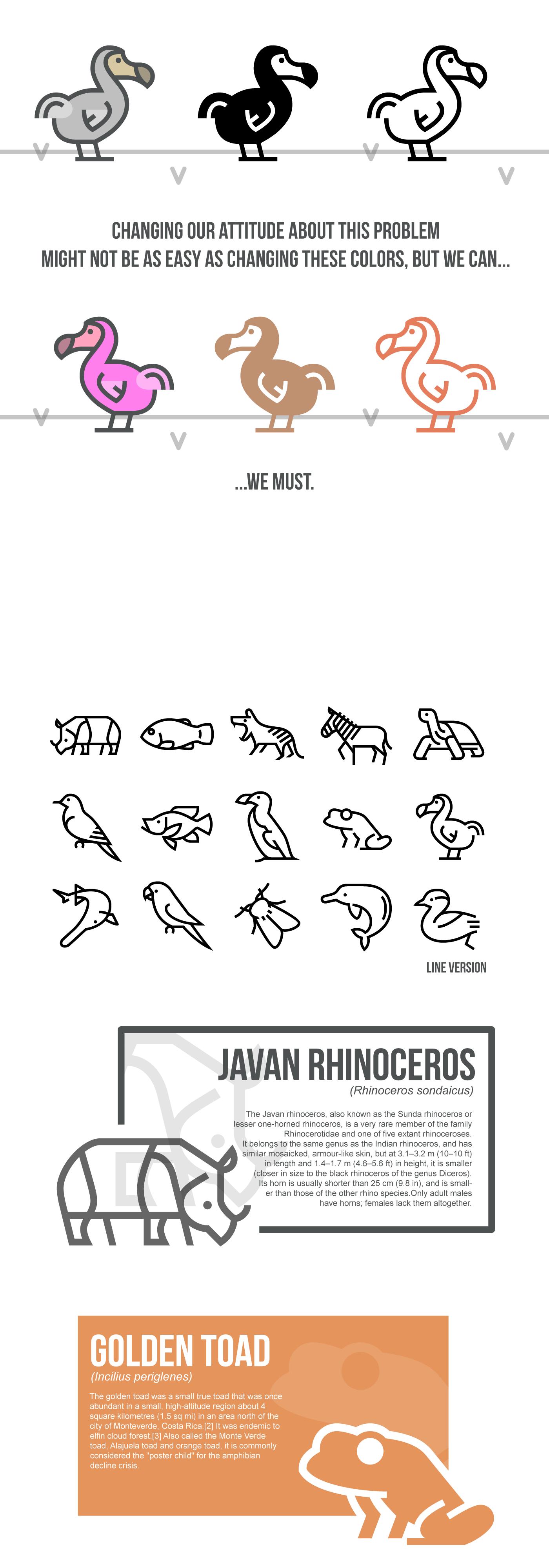 Icon free freebie animals svg vector Extinction icons 图标 动物