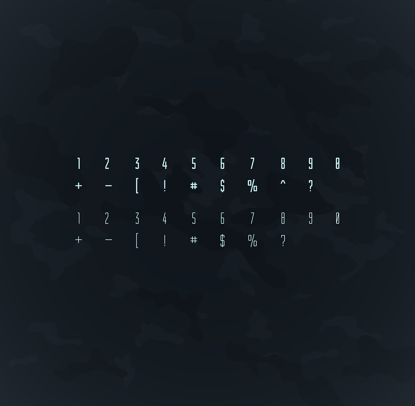 font Typeface Typefamily type Military condensed freefont pattern