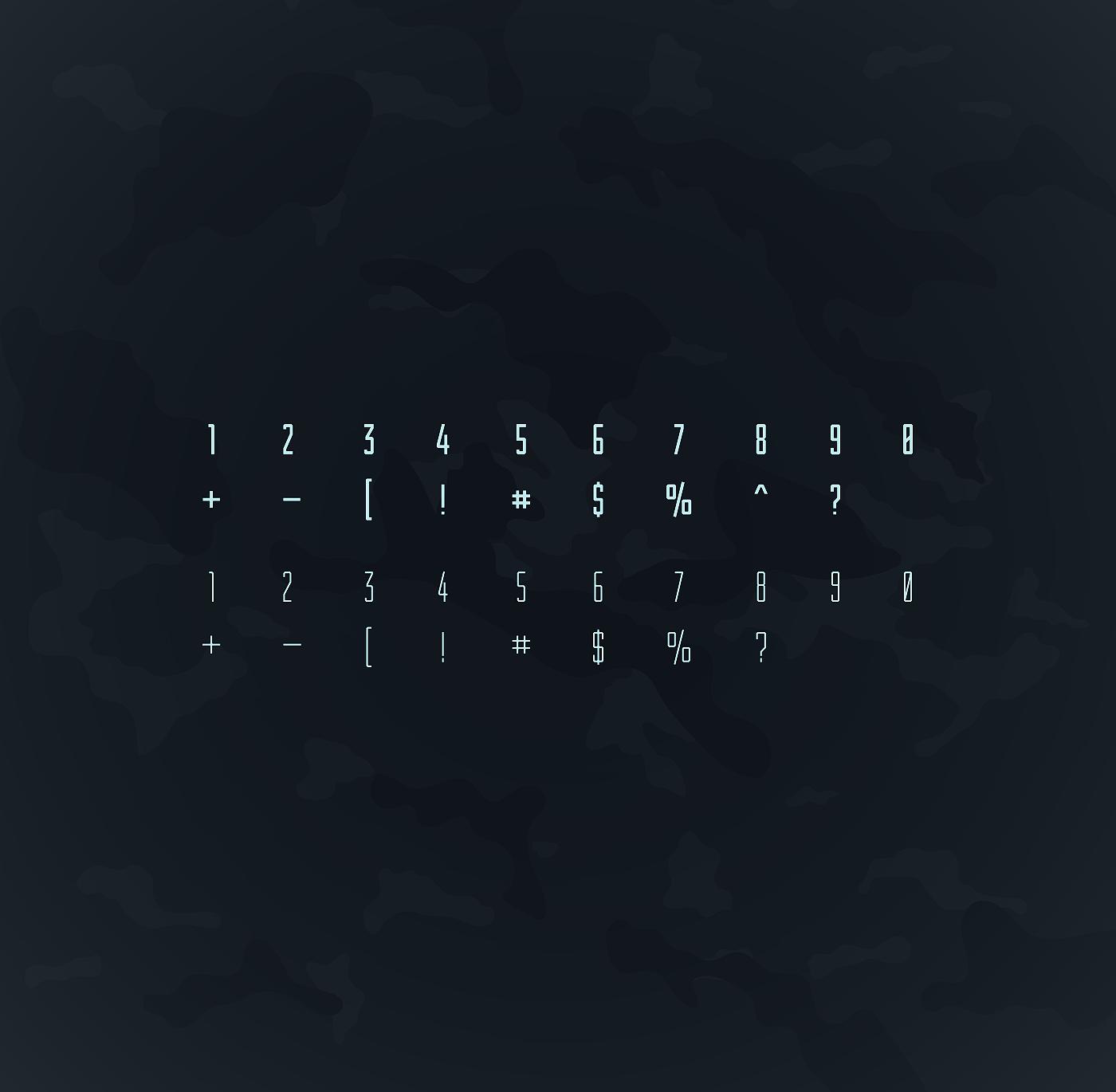 Шрифт – Turum