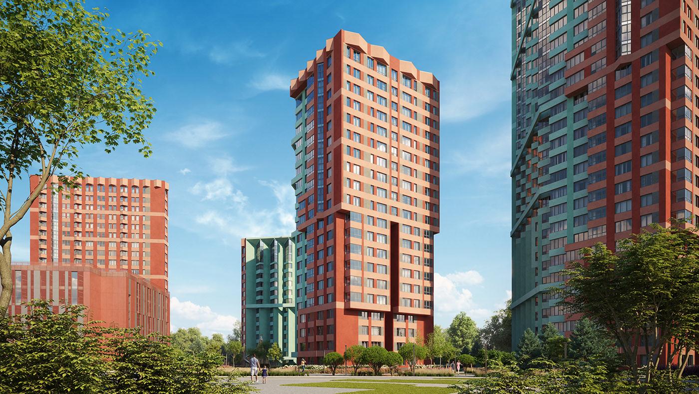 3d-visualization architecture buildings development forum granum modeling real estate the granum