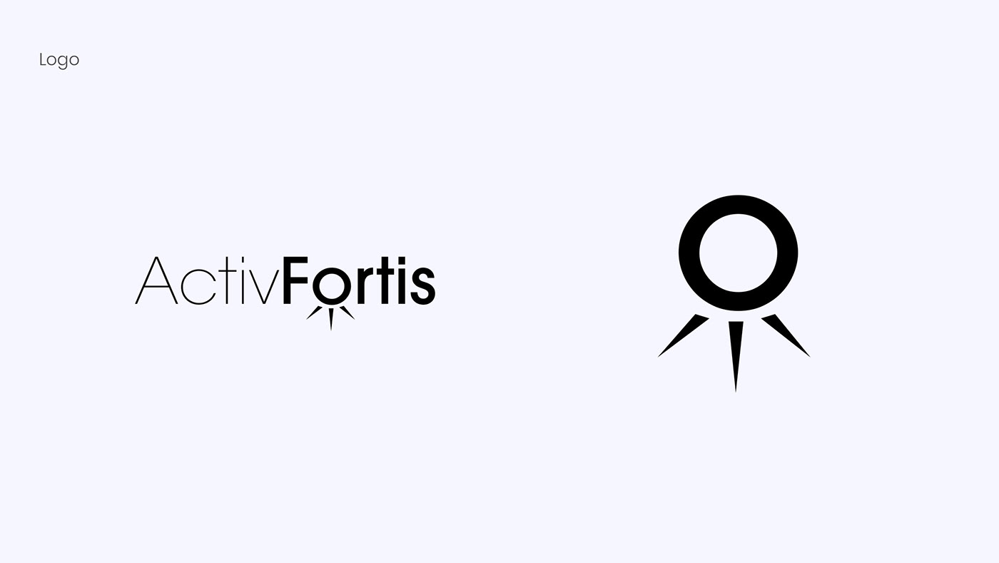 branding  brand identity design Identity Design Packaging Active Fortiz brand logo typography   color pallete