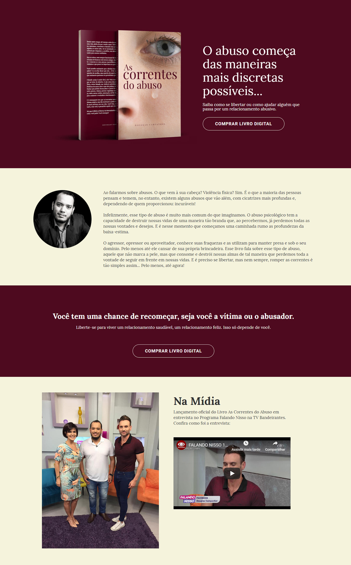 Fábio Campanhol Studio9dade Correntes do Abuso Douglas Campanhol design gráfico DEsgin de livro Livro diagramação de livro