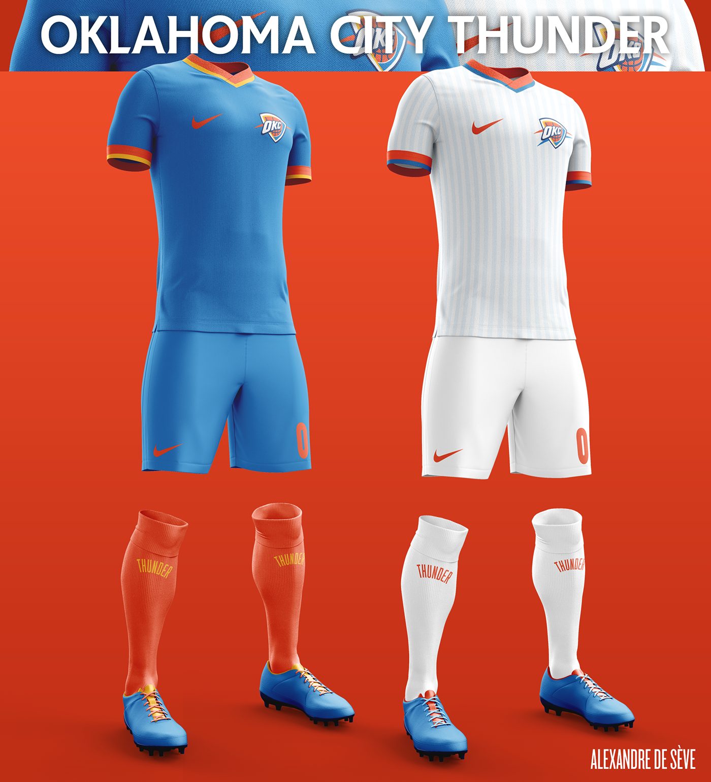 Talisman & Co. | Oklahoma City Thunder Soccer Concept Kit