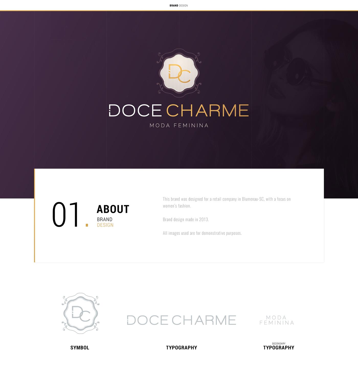 doce charme Logotype chotes fashion collection eduardo garcia inovaart