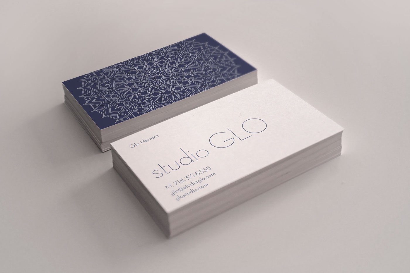 Studio Glo Interior Design Branding