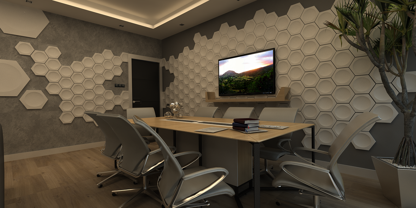 Office Design Manager Room On Behance