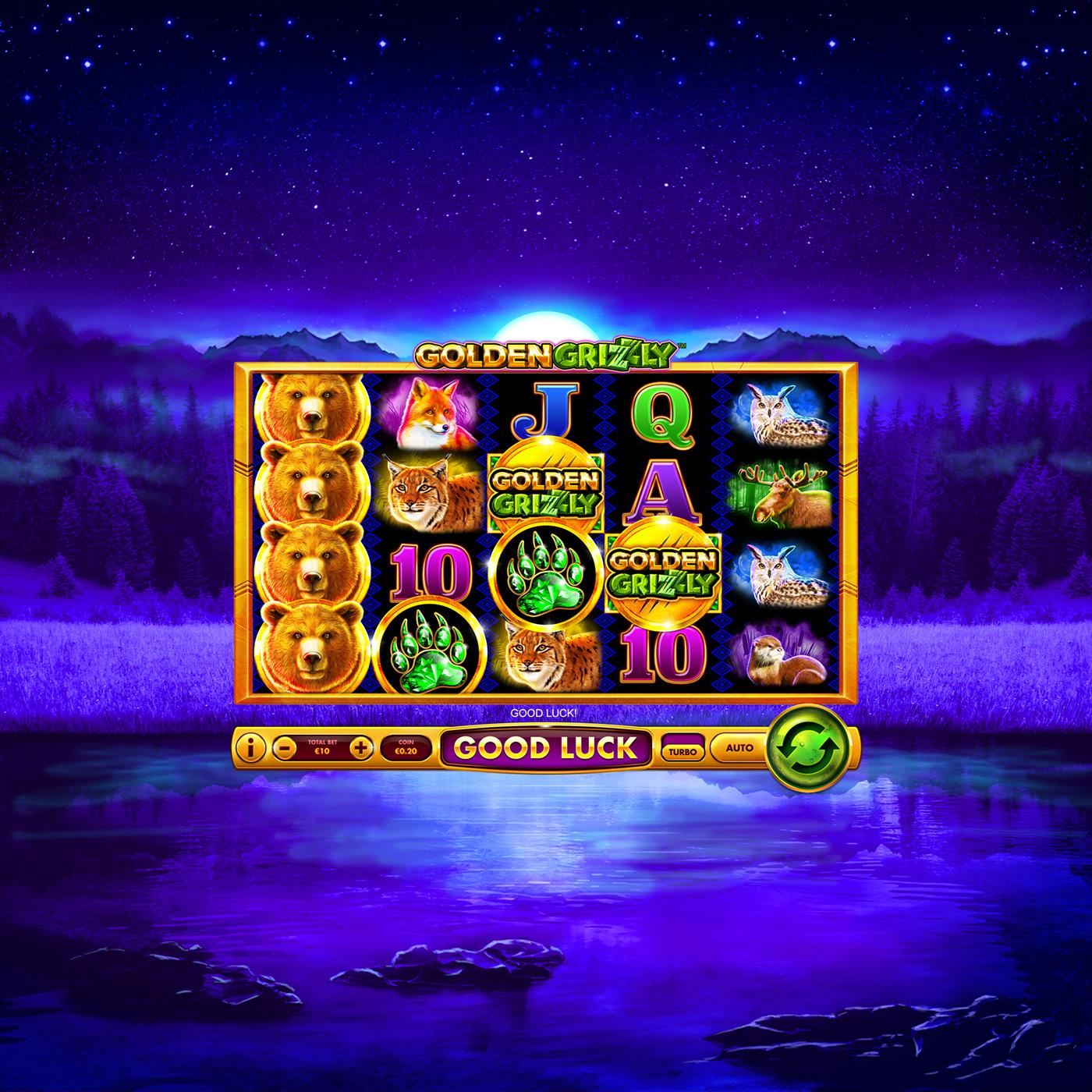 Grizzly Slot Machine