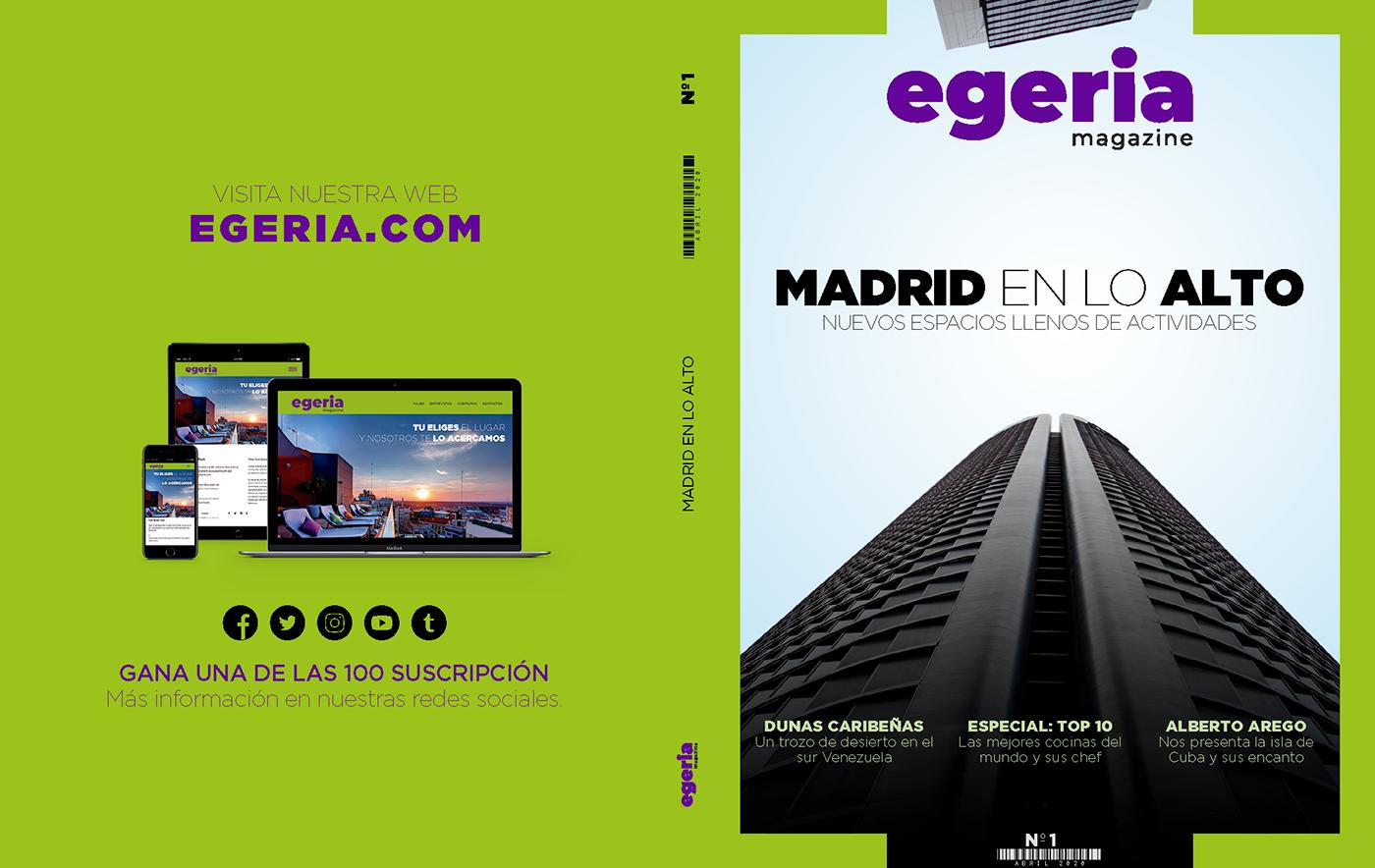 design editorial Illustrator InDesign magazine revista